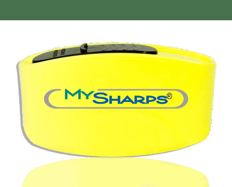 Domrex Pharma My Sharps pocket container Contenant aiguilles souillées poche